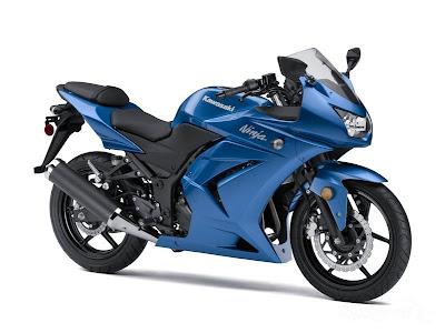 Kawasaki Ninja 250R Blue