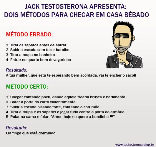 Jack Testosterona Blog, metodo bebados, bebado, sigilo