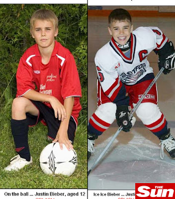 justinbieber footebol e hockey