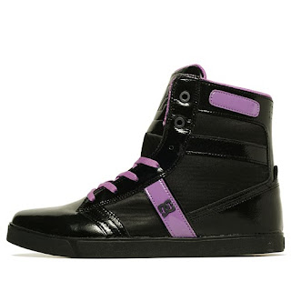 DC Shoes Admiral Black Purple