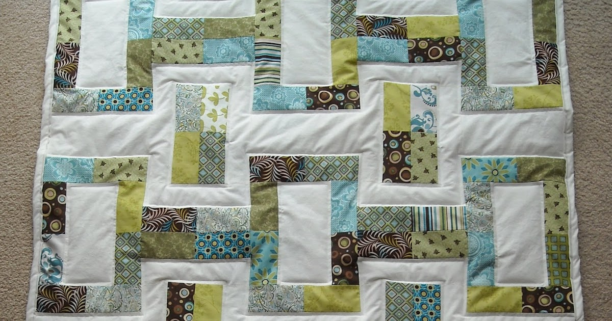 Crafter Without A Cat Jelly Roll Quilt