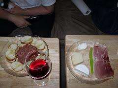 Dinner a while ago