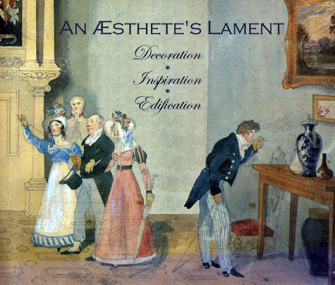An Aesthete&#39;s Lament