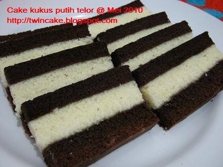 Cake kukus putih telor