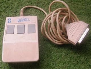 Vista general del ratón de hace casi 25 años