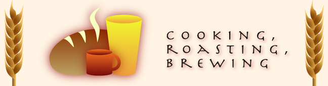 cooking, roasting, brewing
