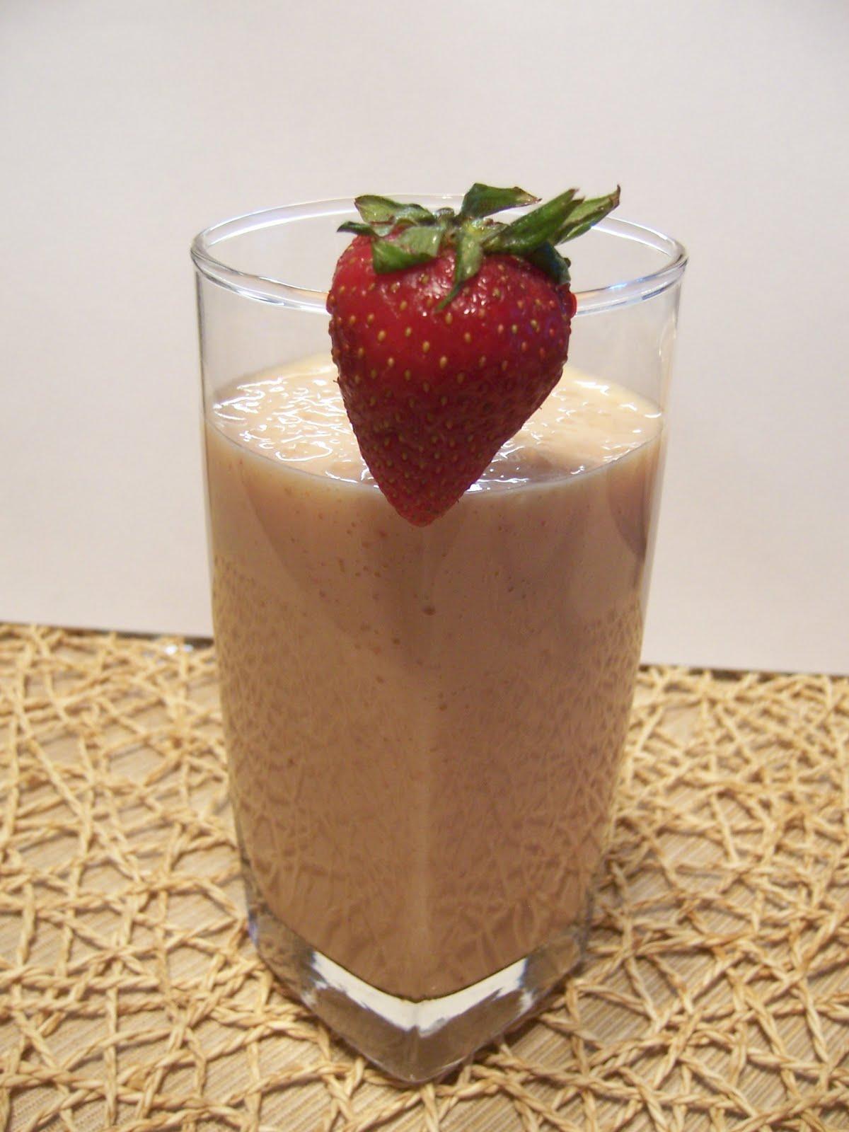 Strawberry Mango Milk Shake | Cardamom And Cloves