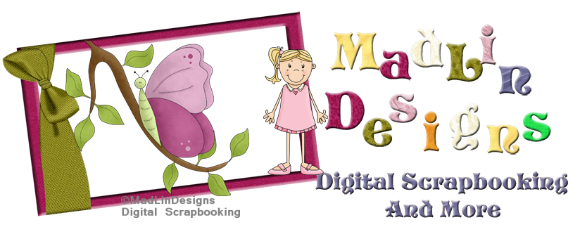 MadLinDesigns Digital Scrapbooking And More