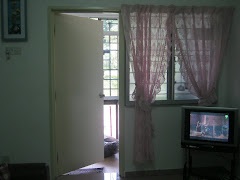 TV dan ruangan memasak