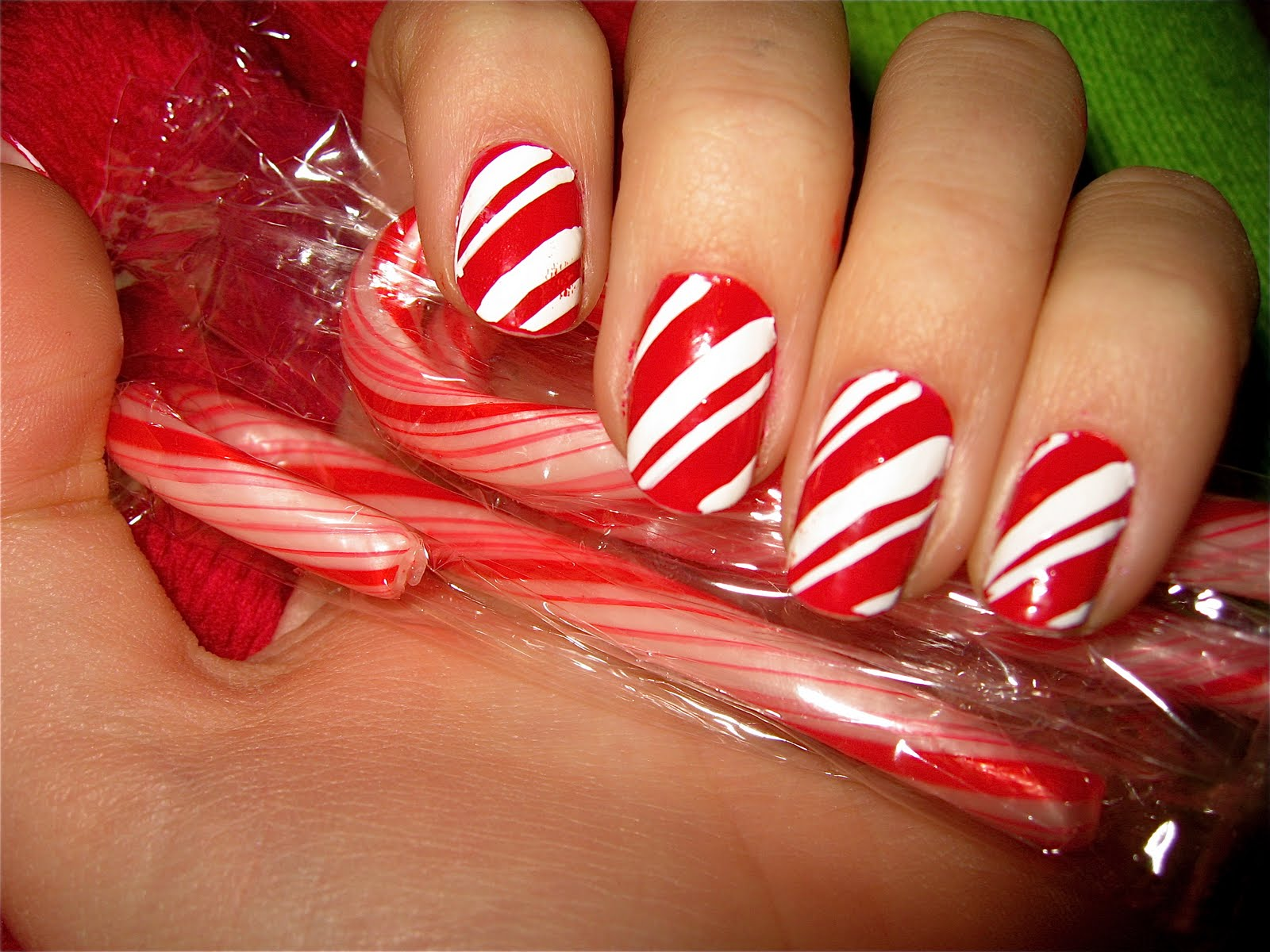 The Nailtress: Christmas nail art =D