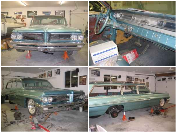 1962 Pontiac Safari Wagon 7000 Pueblo West Groosh S