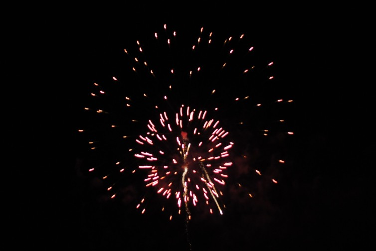 canada day fireworks toronto. The fireworks at Weston Lions