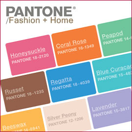 Fashion colors, spring 2011