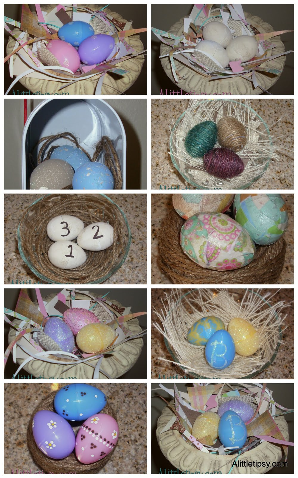 11 Ways To Decorate Plastic Easter Eggs