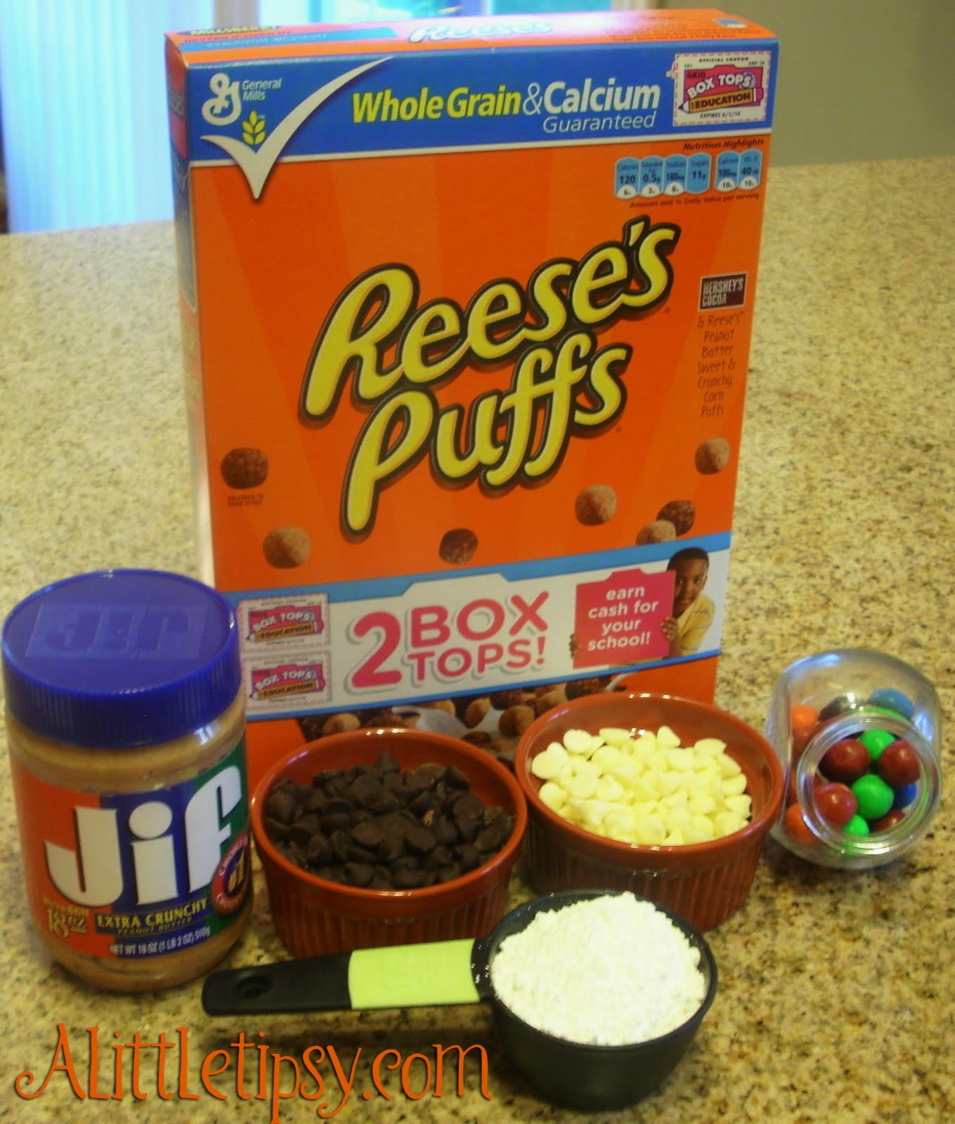 Reeses Puffs Crunch Monster Eyeballs Recipe — Dishmaps