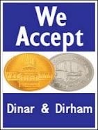 dinar dan dirham diterima