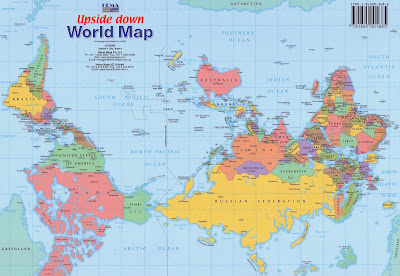 D e c e p t o l o g y upside down world map shows north is up is upside down world map shows north is up is not the truth gumiabroncs Images
