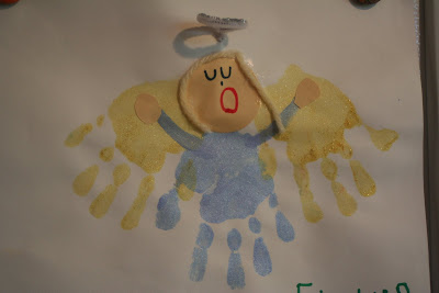 Christmas Handprint Crafts