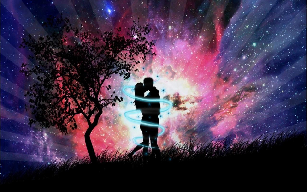 Love Good Night Kiss Wallpaper : I: Romantic nights...