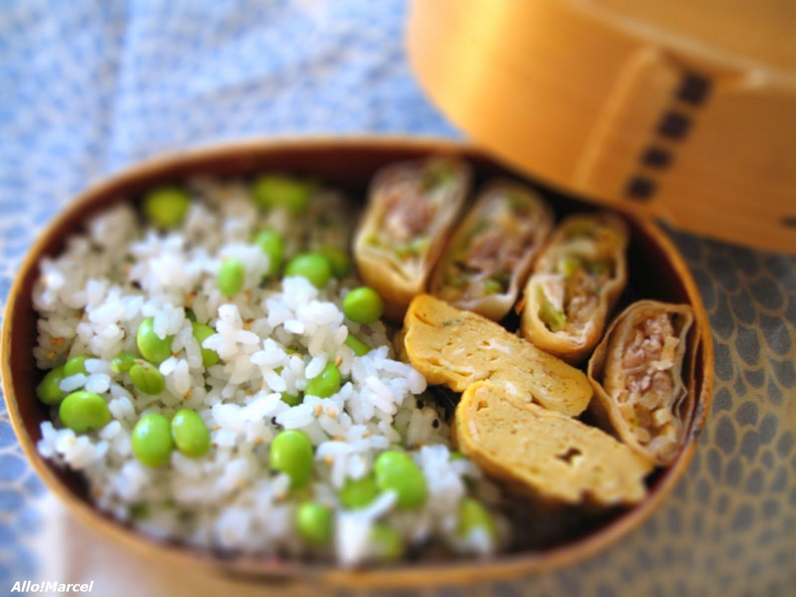 allo marcel recette cuisson du riz japonais ou comment cuire du riz pour vos bentos. Black Bedroom Furniture Sets. Home Design Ideas