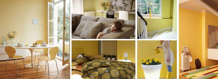 Iç Mimari Dekorasyon Duvar Boyası Ve Renklerin özellikleri
