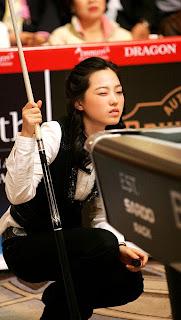 车由兰,韩国撞球美女