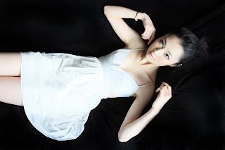 中日混血美女,林丹丹