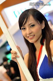 電腦展 2010/PC Fair 2010 Philips正妹,Agnes Lim