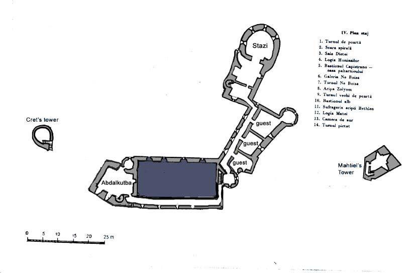 Castelul Corvinilor Etaj+II