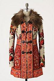 Пальто Карелия, вдохновленный русский гобелены.  - Арт и дизайн - Александра Грыцун.