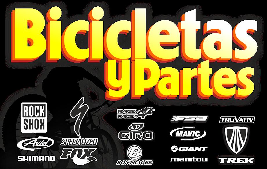 BICICLETAS,PARTES Y ACCESORIOS