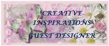 Guest Designer for Creative Inspirations