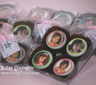Coklat lollipop edible, coklat foto 4pcs dalam 1 pack
