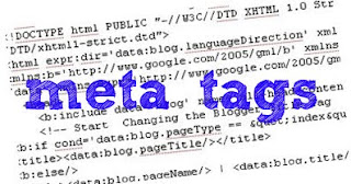meta tags for blogger blog