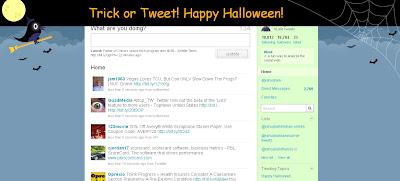 Twitter Celebrates Halloween