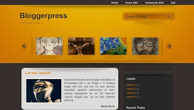 best blogger templates-Bloggerpress