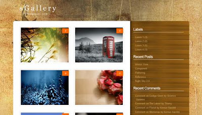 best blogger templates-sGallery