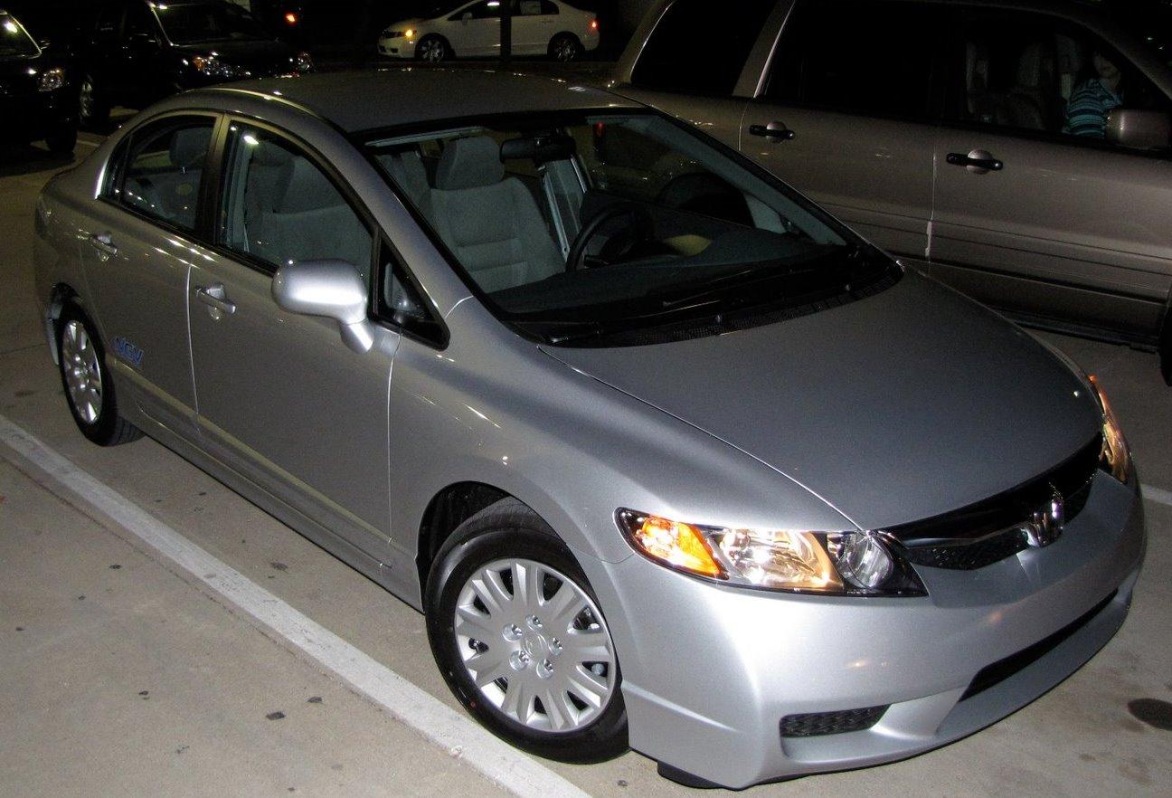 I Purchased A 2010 Honda Civic GX From Joe Marina Honda On Friday.   Craig