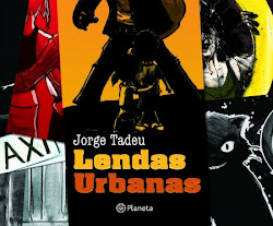 "Meu livro ""Lendas Urbanas"""