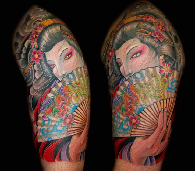 Labels: Japanese geisha arm Tattoos, Japanese geisha Tattoo, Japanese geisha