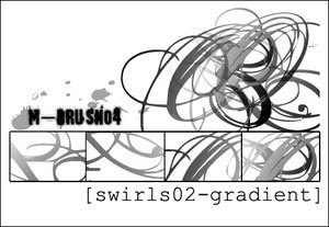 photoshop brushes 20 sets of swirl brushes for photoshop tutorial