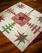 starry forest tree skirt tutorial