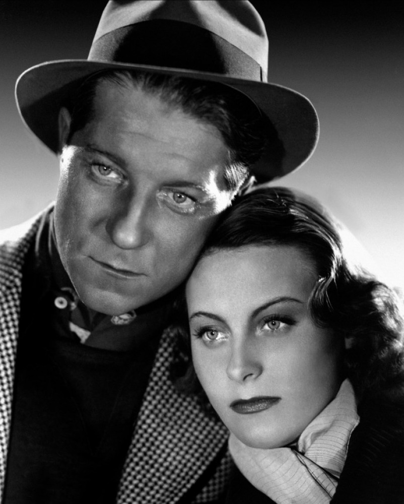 Jean Gabin couple