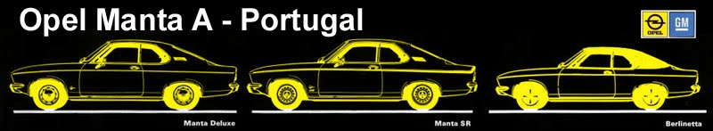Opel Manta A - Portugal
