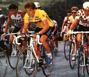 perico+tour+1988 - ESPAÑOLES DE AMARILLO EN LOS 106 AÑOS DEL TOUR DE FRANCIA