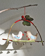 Woodland Love Birds tutorial