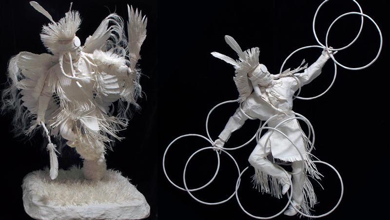 Многослойная бумажная скульптура своими руками мастер класс