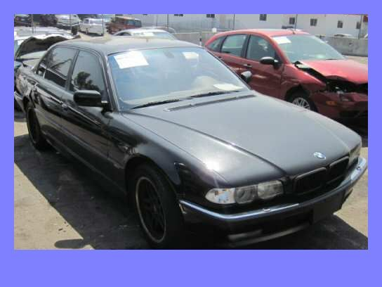 2001 BMW 740iL E38 4.4L M62tu Parts Car