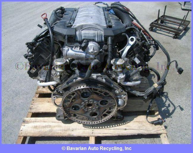 BMW 745i Engine Celebrity Booms