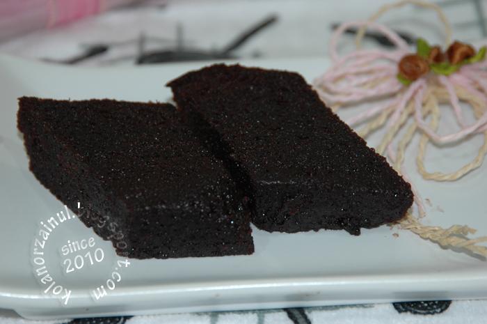 Kek coklat Moist Kukus*~